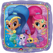 Shimmer And Shine Genie Helium Balloon Nickelodeon Kids Party Girls Decoration
