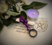 Agate Wiccan Ring Spell for Wealth and Money