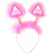 Bridesmaid - Pink Hen Night Head Boppers