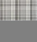 Skye Dove Grey Tartan Wool Effect Curtain and Upholstery Fabric A4 Sample