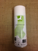 1 x Q-Connect 400ml Spray Mount - Repositionable - Spray Glue