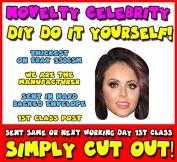 DIY - Do It Yourself Face Mask - Jesy Nelson - Little Mix Celebrity Face Mask