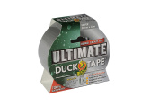 Duck Ultimate Cloth Tape, Silver - 50 mm x 25 m