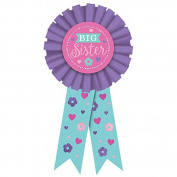 Amscan International 210462 Award Ribbon Award Big Sister