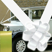 Wedding car ribbon and 3 large 15cm bows in many colours uk supplier