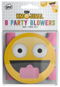 NPW Emoticon Party Noise Maker - Party Blower Horn Get Emojinal