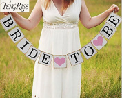 Bride To Be String Garland Bunting Banner Letter Hen Party Wedding Decoration