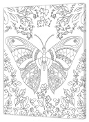 pintcolor 7160.0 Frame with Printed Canvas Colouring Of Fir Wood/Cotton, White/Black, 40 x 50 x 3.5 cm