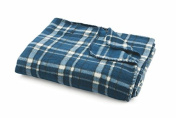 Galileo Casa 2414519 Plaid, Polar Fleece, Multicoloured, 180 x 200 x 0.6 cm