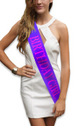 """""""Birthday Girl"""" Purple Glitter Sash – Happy Birthday Party Favours, Supplies and Decorations – Sweet 16 - 21st Birthday - Funny Birthday"""