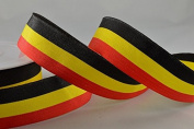 15mm Flags & Stripes Ribbon x 25 Metre Rolls!!