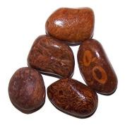 6 Large Crystal Polished Gemstones Tumblestones Tumble Stones Chakra 20-30 mm