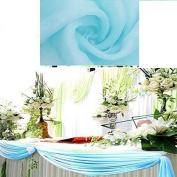 Covering All Occasions 10m x 70cm Organza Fabric Roll for Wedding Decorations