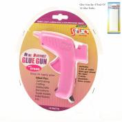 Stix2 Hot Melt Mini Glue Gun Including 14 Glue Sticks S57234 S57235