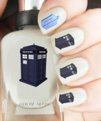 Easy to use, High Quality Nail Art Decal Stickers For Every Occasion! Ideal Christmas Present / Gift - Great Stocking Filler Dr who Tardis