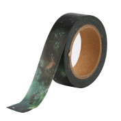 Hunpta 1 PCS Flower Paper Tape Masking Decorative Adhesive Tapes Roll DIY