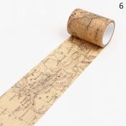 Romancy Decorative Washi Tape Adhesive Tape Sticker DIY Craft