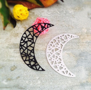Janly® Flowers/ Leave/ Moon Metal Cutting Dies for DIY Scrapbooking Die Cut Stencil Invitation Cards Decorative Craft Template Tool