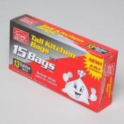 Home Select 49.2l Trash Bags