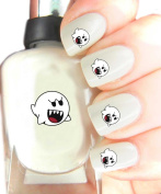 Easy to use, High Quality Nail Art Decal Stickers For Every Occasion! Ideal Christmas Present / Gift - Great Stocking Filler Ghost