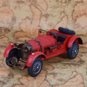 Retro iron car models home decoration gifts