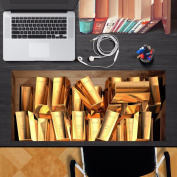3D Stylish Personalised Creative Desktop stickers waterproof and dustproof oil can be replaced without adhesive stickers,80x36cm