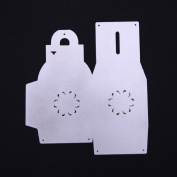 Kingko® New Flower Gift Box Heart Shape Metal Cutting Dies Stencils DIY Scrapbooking Album Paper Card Craft