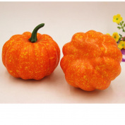 Artificial Pumpkin , Xinantime Halloween Artificial Pumpkin Simulation Fake Lifelike Props Garden Home Decor