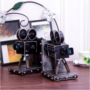 PENG Retro Chinese Creative Camera Book Book Decoration Project Bedroom Resin Decorative Craft Gift