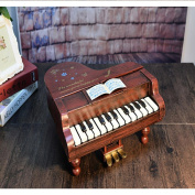 PENG Retro Piano Style Decoration Fashion Birthday Gift Gift Exquisite Iron Crafts