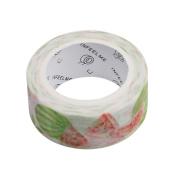 Chinget Decorative Washi Tape Fruit Pattern Masking Tape Scrapbook DIY Craft Gift