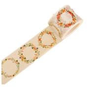 Westeng 1 Roll Washi Tape Decorative Masking Adhesive Tape Rainbow Sticky Paper Tape Scrapbooking DIY Craft