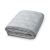 Camcam Baby Play Mat and Play Mat Natural Organic Cotton (120 x 120 cm, Grey