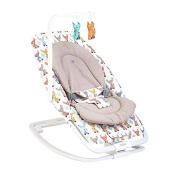Joie Dreamer Baby Bouncer Seat Musical Vibration Chair Soothing Rocker Cute Fox