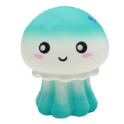 erthome 1PC 15*8cm Scent Soft Jellyfish Doll Squishy Charm Slow Rising Simulation Kid Toy