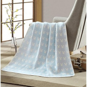 Super Soft,Solid Animals Polyester Blankets , blue