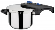 GSW Stahlwaren GmbH Pressure Cooker, Silver/Black, 18 x 13.7 cm, 3.2 Litre