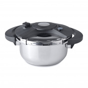BergHOFF Eclipse Induction-Safe Pressure Cooker, Silver, 22 cm/4 Litre