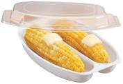 DPNY Genius Microwave Corn Steamer Corn On The Cob Fat Free Corn Easy Kitchen Pot