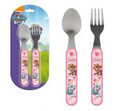 Kids Stainless Steel and Plastic Cutlery set Paw Patrol