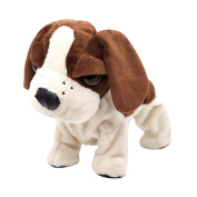 LA HAUTE Electronic Dogs Robot Pet Toys Soft Plush Puppies With Dancing Barking Jumping Touch Sound Control