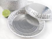 KitchenDance Disposable Aluminium Pie Pans #1042- Pack of 50