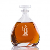 Han Solo Engraved Madison Decanter