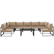 8 PC Outdoor Patio Sectional S Dimensions