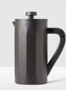 Starbucks Stainless Steel Coffee Press with Soft Touch Handle - Matte Black, 8-cup …