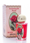 Anointing Oil Rose Natural Anointing Scented Oil Jerusalem Rosa Authentic Fragrance 30ml - Zuluf