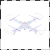 With RC with SYMA camera is 4CH 2.4G REMOTE CONTROL QUADCOPTER [white] / X5C (lift and lower it, and photograph the right, the left turning, progress, the next generation, a still image, an animation