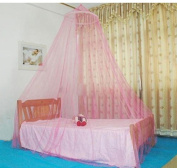 Elegant Dome Mosquito Nets For Summer Polyester Mesh Fabric Home Textile