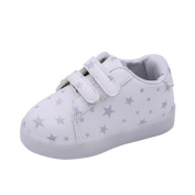 Baby Boys Girls Fashion Sneakers Star Print LED Luminous Shoes, Longra® Child Toddler Casual Colourful Light Shoes Suitable For 1-6T