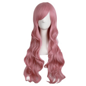 "MapofBeauty 28""/70cm Charming Women's Long Curly Full Hair Wig"